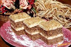 Vejce a cukr vyšleháme, přidáme olej, mléko, mouku s práškem do pečiva a ořechy. Nalijeme na plech, ... Krispie Treats, Rice Krispies, Tiramisu, Cupcakes, Ethnic Recipes, Cupcake, Cupcake Cakes, Tiramisu Cake, Rice Krispie Treats