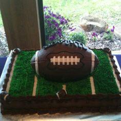 Football grooms cake granburycakes.com