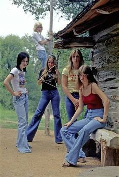 The first girl band ever, The Runaways