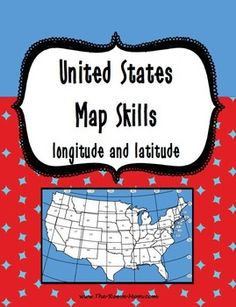 Scoot for absolute and relative locations united states map united states map skills sciox Choice Image