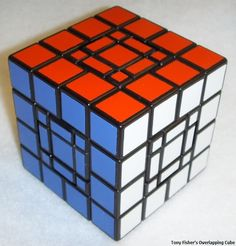 Overlapping Cube by Tony Fisher