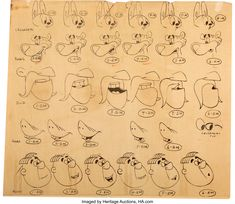 Crusader Rabbit Model Sheet and Animation Drawing Group (Creston | Lot #97287 | Heritage Auctions Crusader Rabbit Model Sheet and Animation Drawing Group (Creston Studios, 1959). TV's first original animated star Crusader Rabbit (co-created by Jay Ward in 1949) came back for 260 new episodes in 1959. It was produced by Shull Bonsull's Capital Enterprises, with supervision by Bob Gannon and Gerald Ray. Finding any Crusader Rabbit art is tough. Here is a rare Model Sheet print that has six…