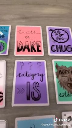 Party Card Games, Teen Party Games, Sleepover Games, Sleepover Party, Party Fun, Party Time, Party Ideas, Animation Soiree, Theme Animation