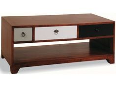 British Vintage Coffee Table with 3 Different Drawers £348.00