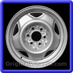Dodge Dakota 1991 Wheels & Rims Hollander #2002  #Dodge #Dakota #DodgeDakota #1991 #Wheels #Rims #Stock #Factory #Original #OEM #OE #Steel #Alloy #Used