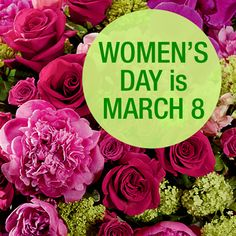 Around the world, many people give flowers and other small gifts to their mothers, wives, grandmothers and daughters, as well as coworkers, teachers and friends in recognition of Women's Day. Research at Rutgers University demonstrates flowers create instant delight and increase happiness and life satisfaction, making flowers a top choice for celebrations.