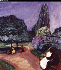 Edvard Munch Summer Night