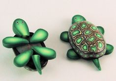 Turtle Kit -Set of 3 Polymer Clay Canes - 'Under the Sea' series