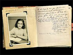 The first page of the diary, which Anne Frank receives for her thirteenth birthday on 12 June 1942.