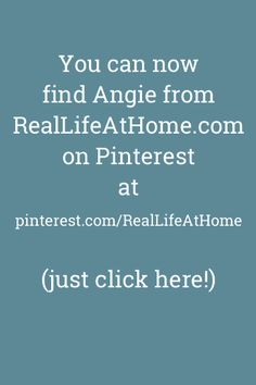 Click to Visit My New Pinterest Page! (I changed my username.)