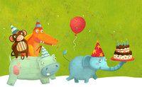 Cumpleaños - Ilustración de Laura Watson.