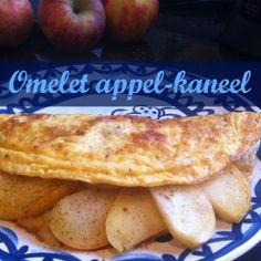 Omelet appel-kaneel — PeachyPaleo