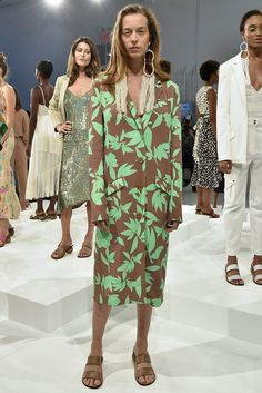 Highlights include Marc Jacobs's abstract florals and turbans from no particular place. It was otherworldly meets real world.