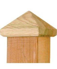 Paalornament voor tuinpaal hout
