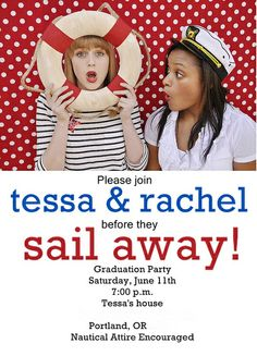 front no typo - page 002 by yourhomebasedmom, via Flickr  cute graduation theme - sail away!