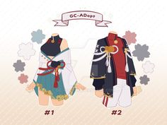 Outfit Adoptables # 18 - (Close) by gc-adopt on DeviantArt Manga Clothes, Drawing Clothes, Character Outfits, Character Art, Arte Fashion, Clothing Sketches, Anime Dress, Fashion Design Sketches, Anime Outfits