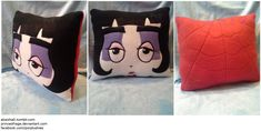 Lydia Square Face pillow by PrinceOfRage