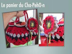 MES FAVORIS TRICOT-CROCHET: Modèle gratuit : Panier vintage au crochet