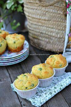 Muffin con piselli chiarapassion