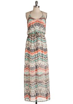 Give it Your Fest Dress. Take your breezy, bohemian style to a delightful new level with this eye-catching maxi. #multi #modcloth