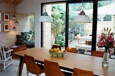 Dining area at Jemima's House, Balcorne Street