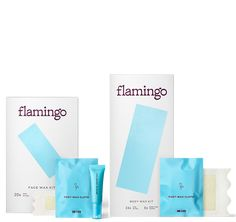 Face and Body Wax Kit | Flamingo