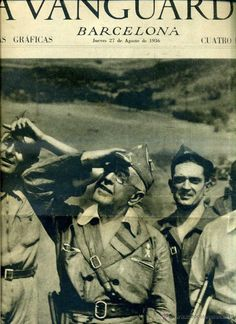 LA VANGUARDIA NOTAS GRÁFICAS GUERRA CIVIL 27 AGOSTO 1936 BELCHITE - EXTREMADURA