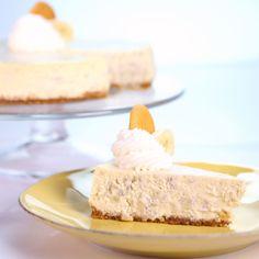 the chew | Recipe | Carla Hall's Banana Cream Cheesecake