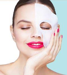 """Je huid voelt zijdezacht en straalt na het gebruik van het Aziatische """"sheet"""" maker."""