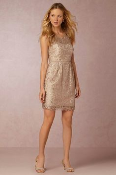 Prefer long but this style is cute for short. Shorter and more fitted, not bridesmaidy or plain. Anthropologie