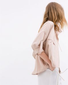 ZARA - NEW THIS WEEK - SOFT JACKET WITH  POCKETS
