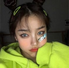 ulzzang💚🌱 discovered by 海月 on We Heart It Pretty Korean Girls, Cute Korean Girl, Asian Girl, Beautiful Chinese Girl, Beautiful People, Girl Korea, Luscious Hair, Ulzzang Korean Girl, Green Girl