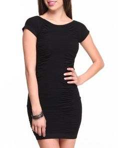 Love this Dawn All Over Ruched Body Con Dress w/ Peak A b... on DrJays. Take a look and get 20% off your next order!