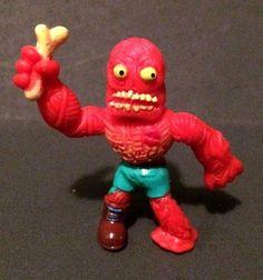 MUTANT MANIA ROUND 1 Wrestlers GUTLESS Evil Zomboidz Moose Toys Rubber Monster #MooseToys