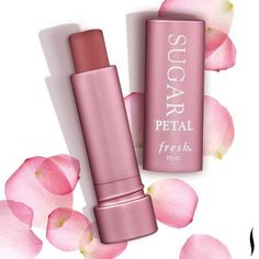 Petal power! Our bestselling Fresh Sugar lip treatment is now available in a NEW nude-pink hue.