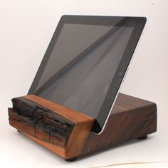 Wood iPad Stand from Block & Sons Co