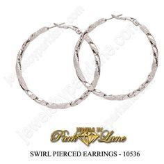 Swirl earrings!  My favorite everyday earrings.  #fashion #jewelry #parklane cyndee.parklane@yahoo.com