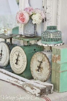 Lovely soft colors and details in your interiors. Latest Home Interior Trends. The Best of shabby chic in 2017.