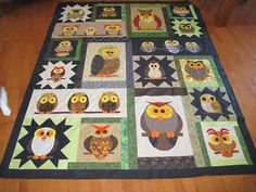 Love to Quilt: Whoo Knows .... It's done!