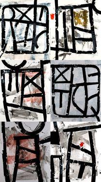 "Saatchi Online Artist Djordje Djordjevic; Painting, ""Kodeks"" #art"