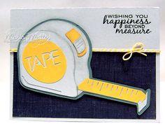 ... Joyful Stamper: Cricut - Handyman Birthday! JoysLife.com stamps