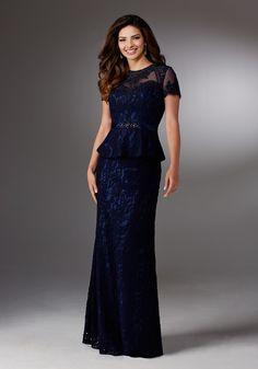 #BridalDebut #WeddingPlanning #AllureBridal #BridalGown #WeddingGown #MotherOfTheBride #NavyBlue #Montage #Moncheri