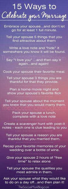 15 (FREE) Ways to Celebrate Your Marriage Every Day Don't wait for your anniversary or Valentine's Day! Why you should celebrate your marriage EVERY day and 15 FREE ways to show your spouse you love them. PLUS a FREE PRINTABLE version! Marriage Goals, Marriage Relationship, Happy Marriage, Marriage Advice, Love And Marriage, Quotes Marriage, Successful Marriage, Strong Marriage, Relationship Repair