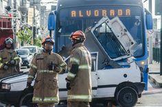 CONSTRUINDO COMUNIDADES RESILIENTES: C.B. Realizou Simulado na faixa do BRT em V.C.