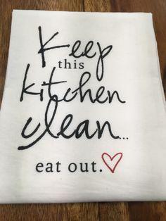 Kitchen/Bar Towel: Keep Kitchen Clean – URBAN MAX LLC