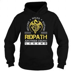 RIDPATH Legend - RIDPATH Last Name, Surname T-Shirt - #gift wrapping #hoodie for teens