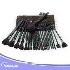 new 24 piece pro black handle professional cosmetic brush/make up brush/makeup brushes $5.5~$8