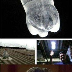 Water and bleach light