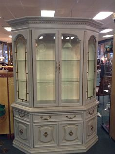 Bernhardt China Cabinet Painted With Blackberry House Paint Creek Bed Home Cooked Bread On The Back