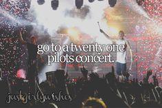 Bucket List: Go to a Twenty One Pilots concert